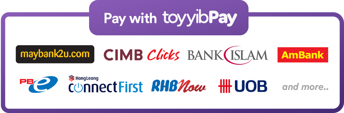 "ToyyibPay <span style=""color:#aaa;font-size: 11px"">online banking</span>"